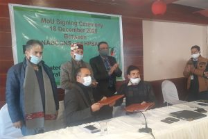 HP Agri Marketing Board diversifies to facilitate apple growers Signs MoU with NABARD for integrated cold chain project