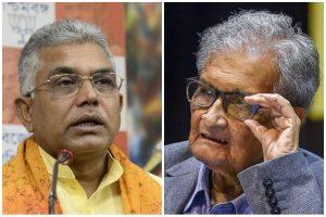 Amartya Sen married thrice, left India, has no right to speak: BJP's Dilip Ghosh