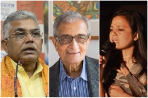 TMC's Mahua Moitra attacks BJP, RSS after Dilip Ghosh ridicules Amartya Sen's 'love jihad' remark