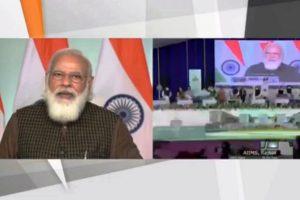 PM Modi lays foundation stone of AIIMS Rajkot