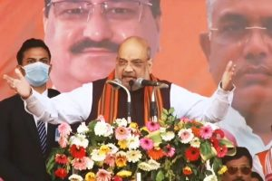 Slain BJP workers' families in pain too: Shah flays Mamata