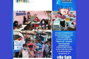 Israel collaborates with NGOs to bring light to underprivileged in India during Covid-19 pandemic