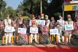 With 'Say No To Dowry' campaign, 11 differently-abled couples tie knot in Rajasthan