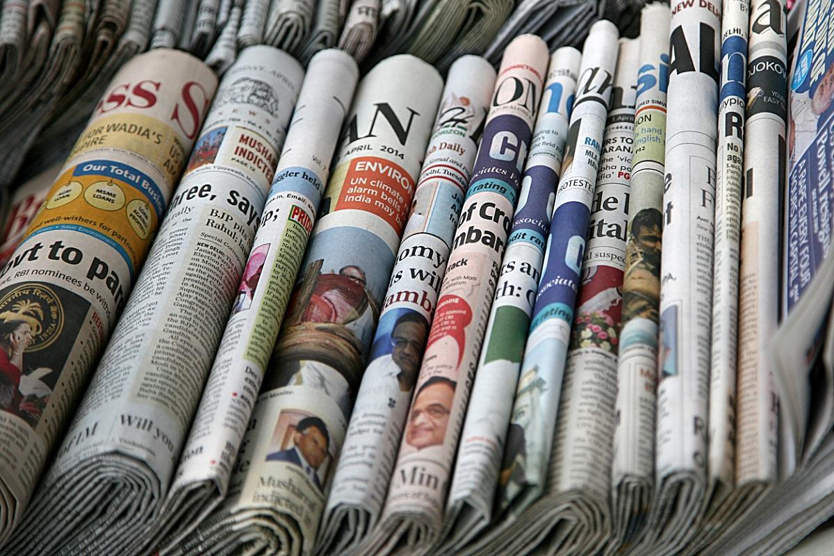 Free to air, lockdowns, newspapers, WhatsApp