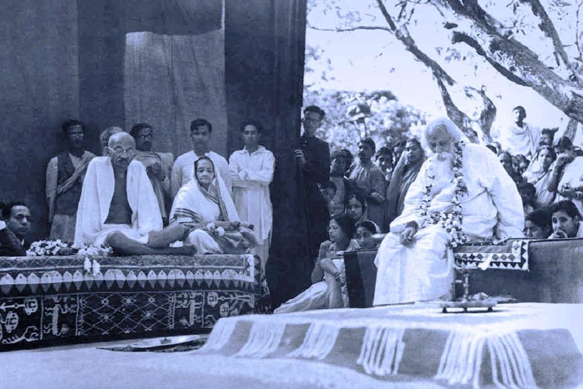 100-year journey~I, Rabindranath Tagore, Visva Bharati University, Santiniketan