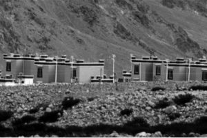 China builds temporary houses for soldiers in Demchok across LAC