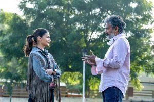 Alia Bhatt begins shooting for SS Rajamouli's 'RRR'
