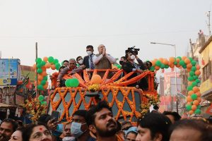 Give one chance to Narendra Modi, will make 'Sonar Bangla' in 5 years: Amit Shah in Bolpur