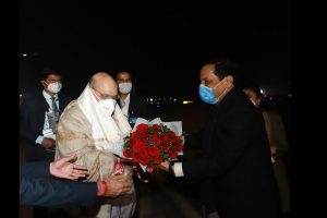 Amit Shah arrives in Assam, will lay foundation stone of various development projects