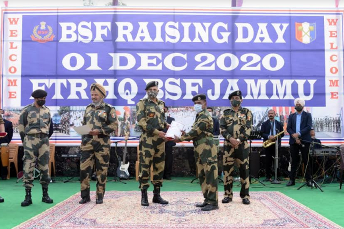 Jammu frontier, BSF, Pakistan