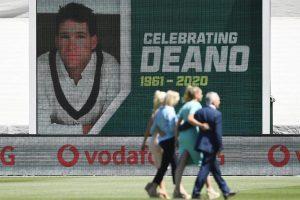 Dean Jones given mid-Test farewell at MCG