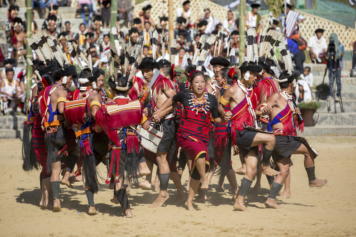 Naga feast, Naga feast of merit, Naga economy and society,
