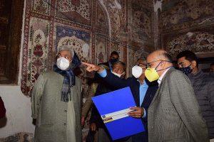 Heritage Mubarak Mandi complex being restored in Jammu