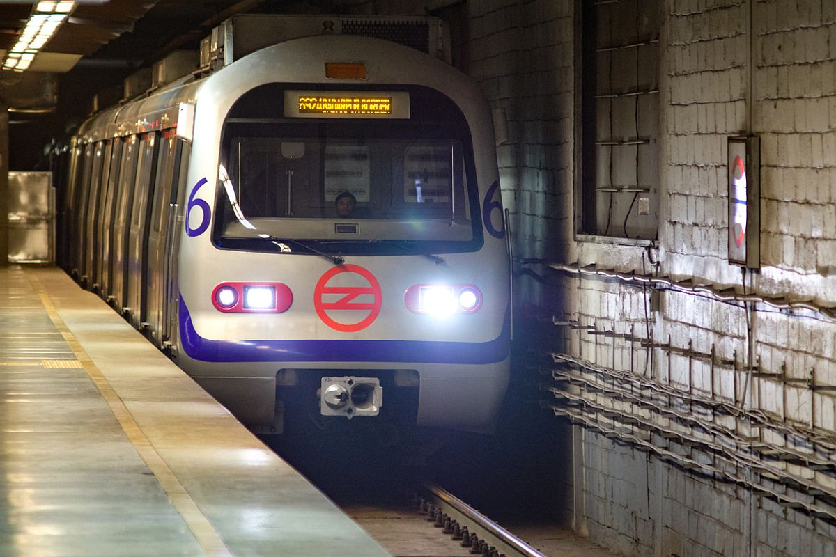 Delhi Metro Rail Corporation, entry and exit gates, metro stations, closed,