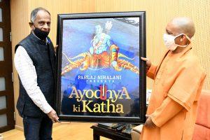 Pahlaj Nihalani meets Yogi, to shoot two films in UP