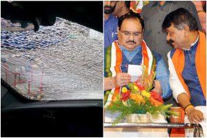 Convoy of BJP's JP Nadda, Kailash Vijayvargiya attacked in West Bengal's Diamond Harbour