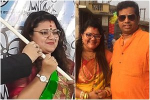 BJP MP Saumitra Khan's wife joins TMC with hope for husband to follow suit soon