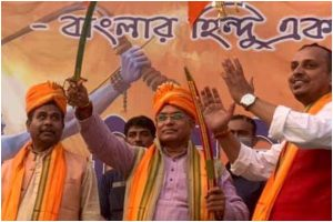 Revenge before law: BJP's Dilip Ghosh asks Hindu youths to take arms to protect women