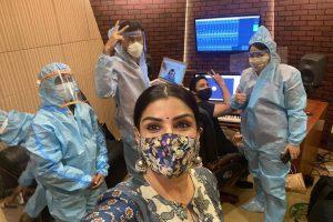 Raveena Tandon on new normal shoots: Seems like operation theatre than dubbing theatre