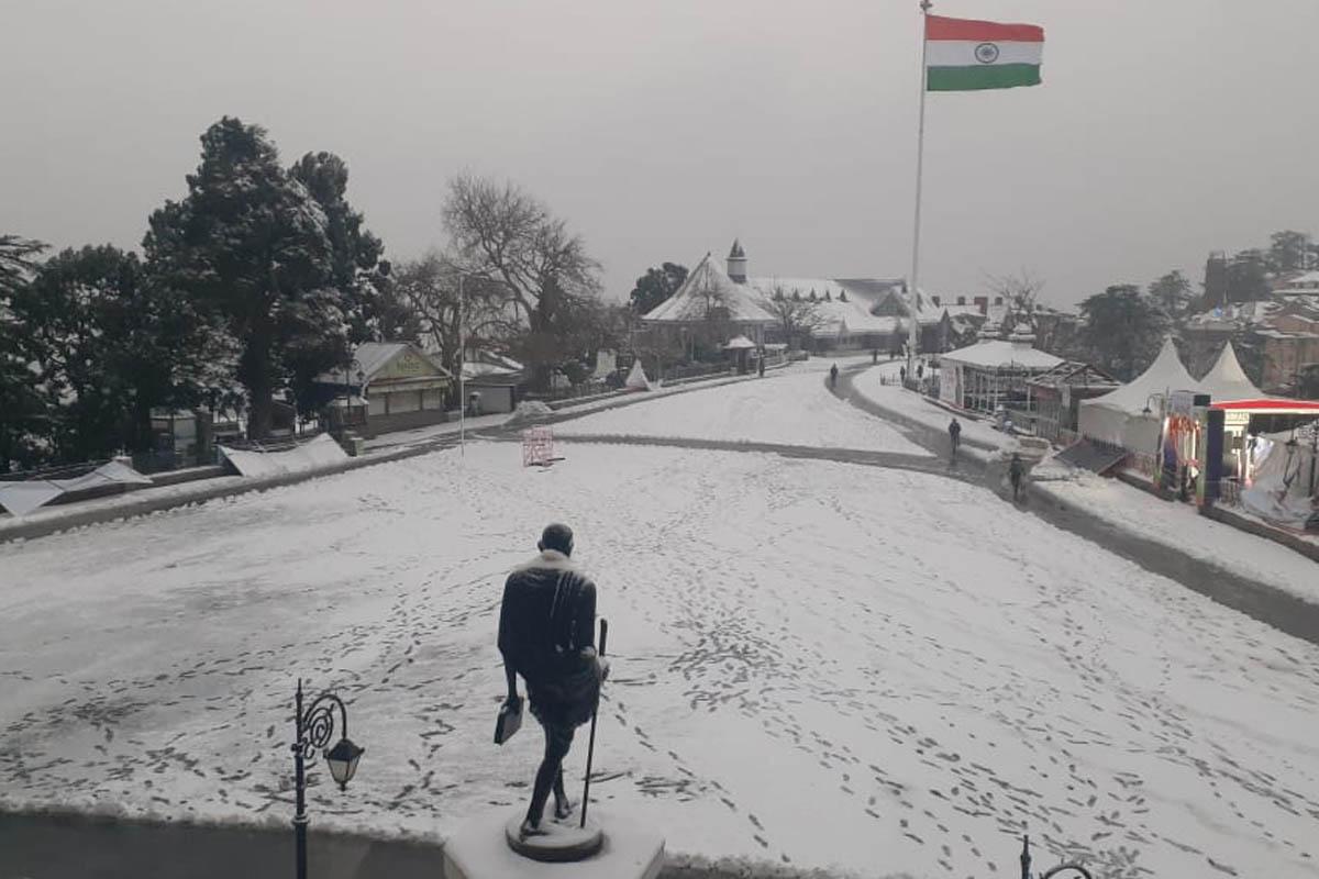 Photos, Shimla, snowfall