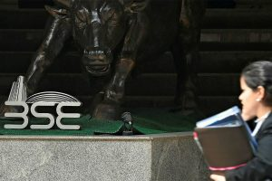 Sensex, Nifty hit record highs after RBI revises real GDP growth projection
