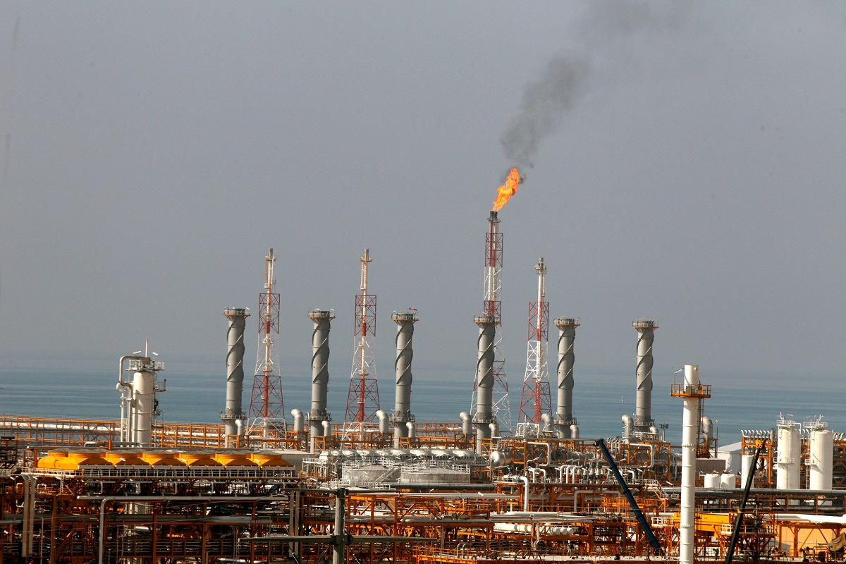 Air pollution. oil and gas industry