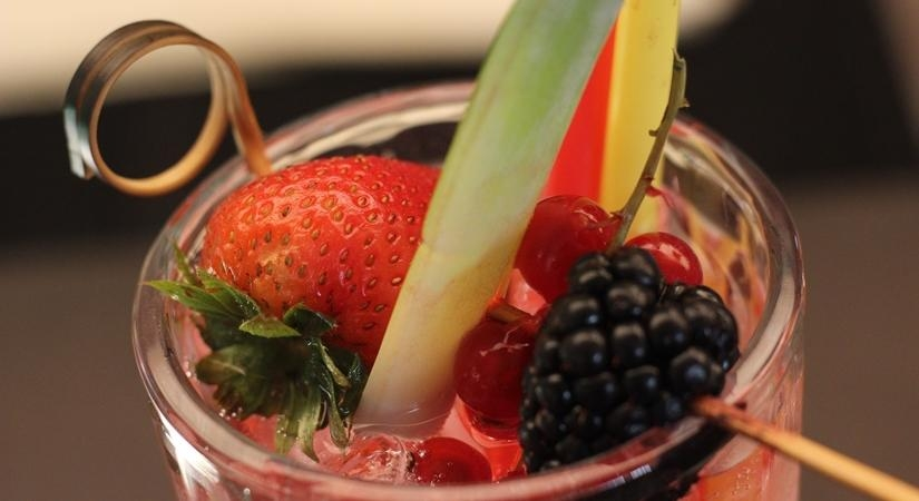 healthy mocktails, winter drinks