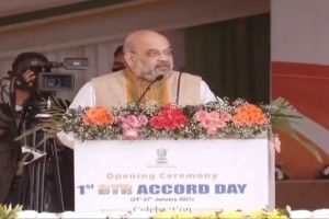 Jammu and Kashmir and North East free of violent phase of terrorism: Amit Shah in Assam