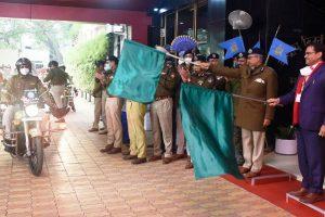DRDO hands over motorbike ambulance 'Rakshita' to CRPF