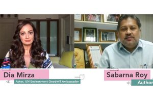 Dia Mirza and author Sabarna Roy discuss Indian Literature in times of COVID-19