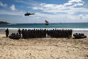 Exercise Kavach: Training for Joint Operation in Andaman Sea to be conducted next week