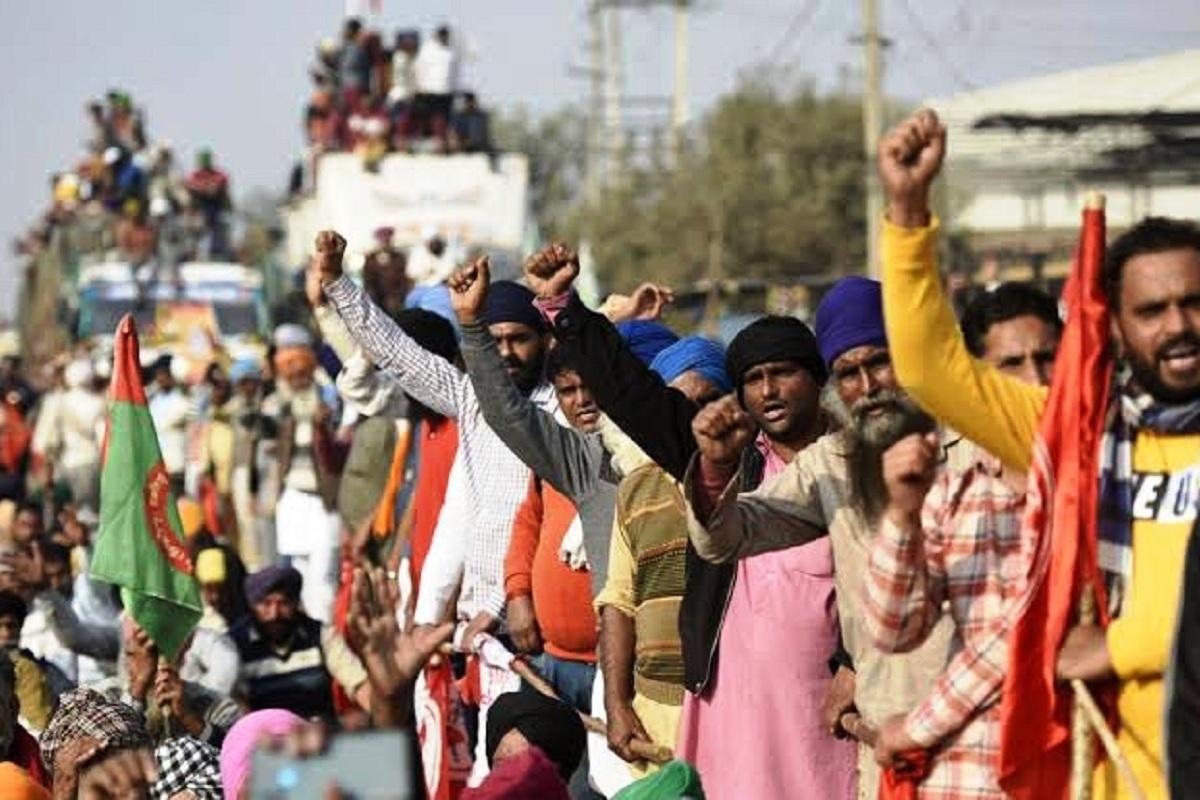 Farmers, farmers protest, farm laws, Western Peripheral Expressway, Ghaziabad, Palwal, Sanyuta Kisan Morcha, farmer unions