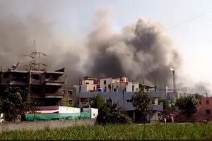Massive fire breaks out at Pune's Serum Institute, Covishield production won't be affected