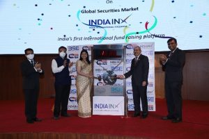 India Exim Bank rings the bell with India INX for listing ofUSD 1 billion 10-year bond priced at a record low of 2.25% p.a.