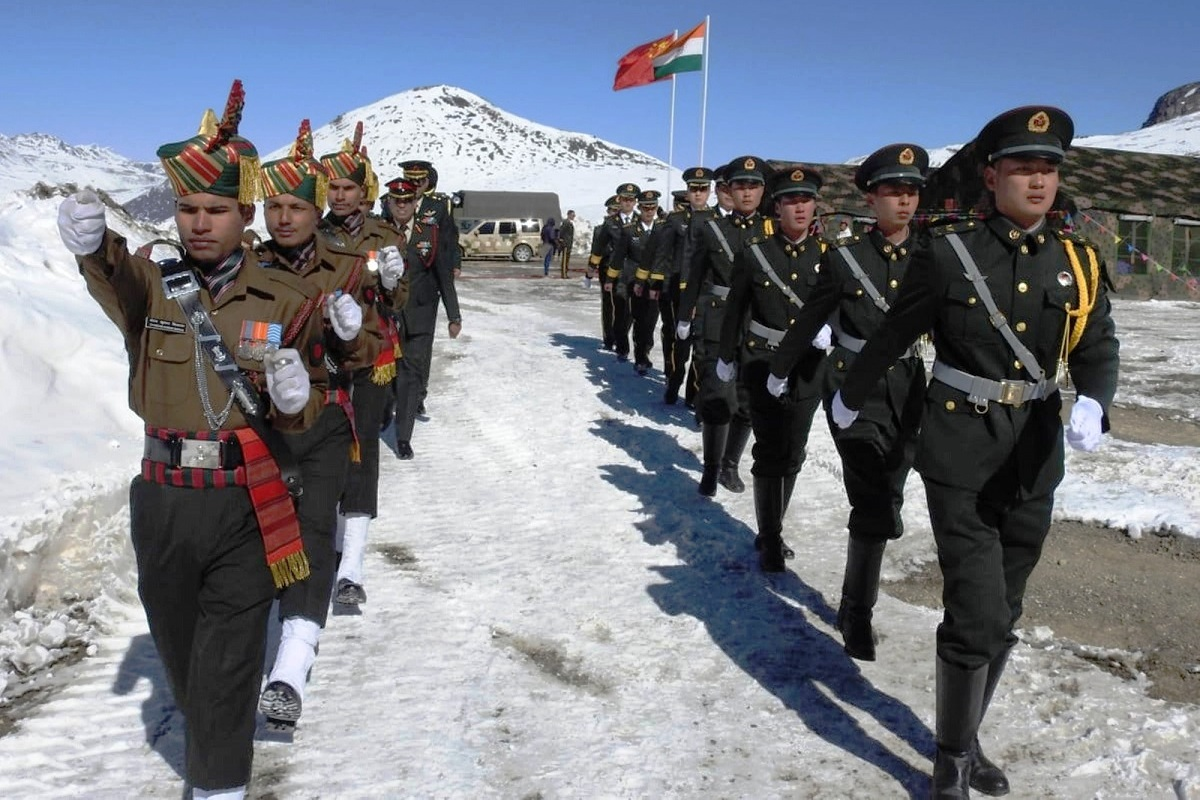 Indian and Chinese troops, China, India, Line of Actual Control (LAC), military stand-offs,
