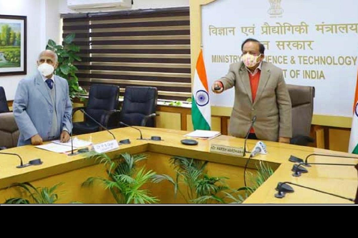 Innovation Portal, NIF India, Dr Harsh Vardhan