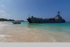 Indian Armed Forces conduct massive Joint Military Exercise in Andaman Sea