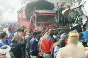10 killed, several injured as vehicles pile up on Moradabad-Agra highway