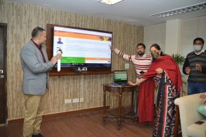 New website of Bihar Bhawan launched by Resident Commissioner Palka Sahni
