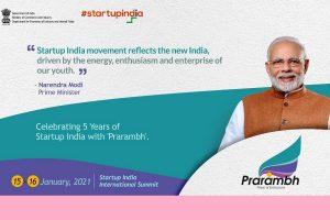 PM to interact with Startups and address Prarambh: Startup India International Summit on 16 January