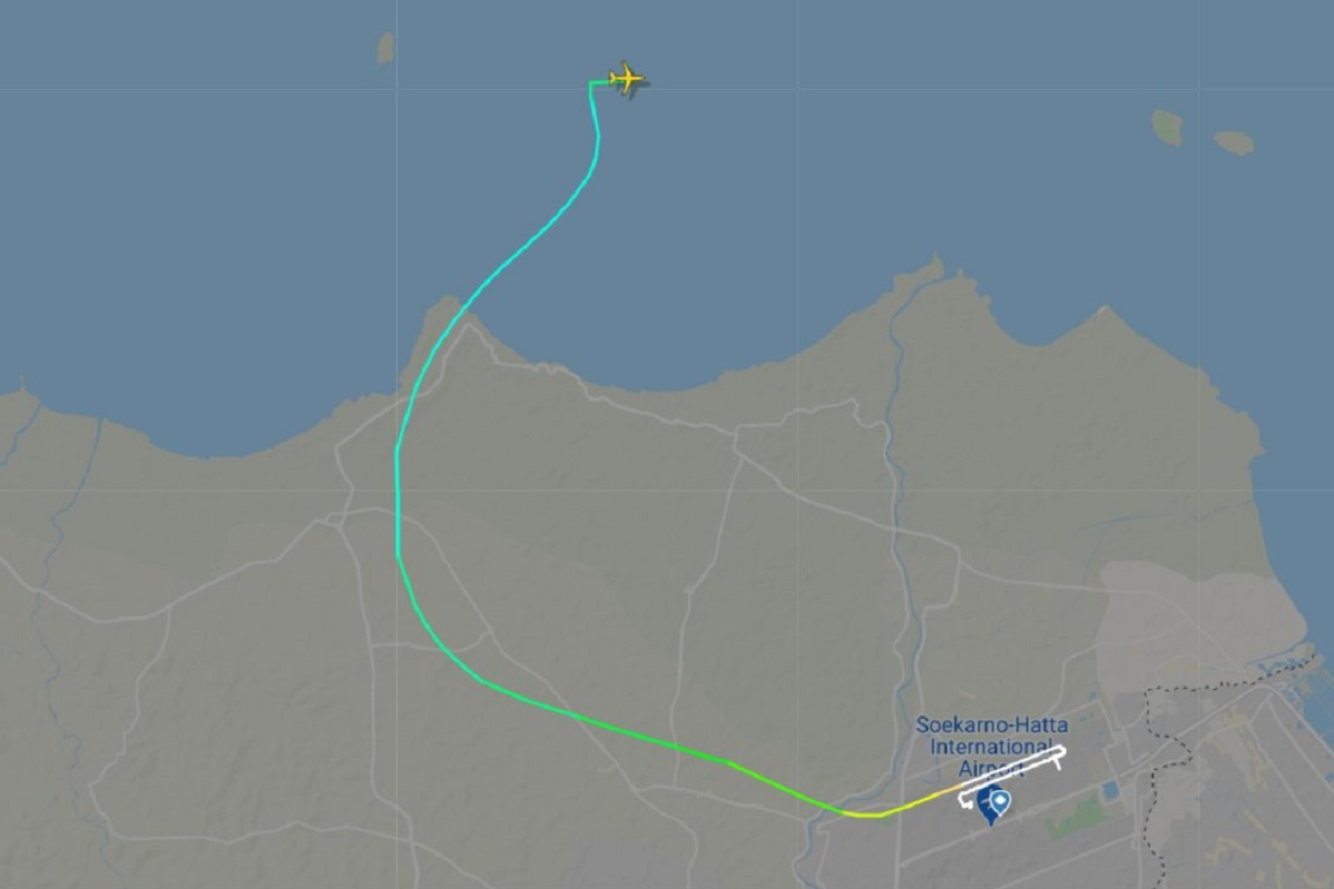 Sriwijaya flight, Sriwijaya Air plane, Indonesia, Jakarta, Pontianak, West Kalimantan