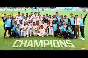 PM Modi congratulates Team India for winning Brisbane Test
