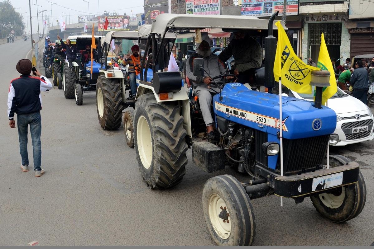 Congress, farmers' tractor rally, Delhi, Tractor Parade, farm laws