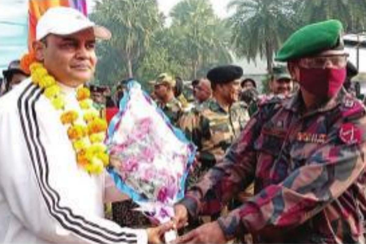 Cycle rally, India, Bangladesh, South Dinajpur