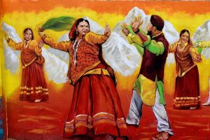 Haridwar gets a makeover with wall paintings for Kumbh