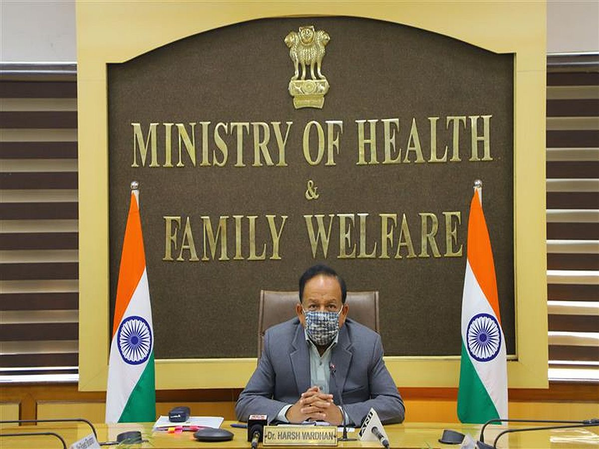 Union Health Minister Dr Harsh Vardhan, Oxford vaccine Covishield, Bharat Biotech's Covaxin, Covid-19 vaccines,