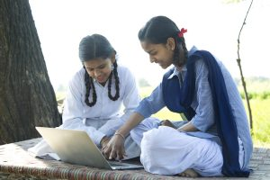 Indian girls facing a deep digital divide