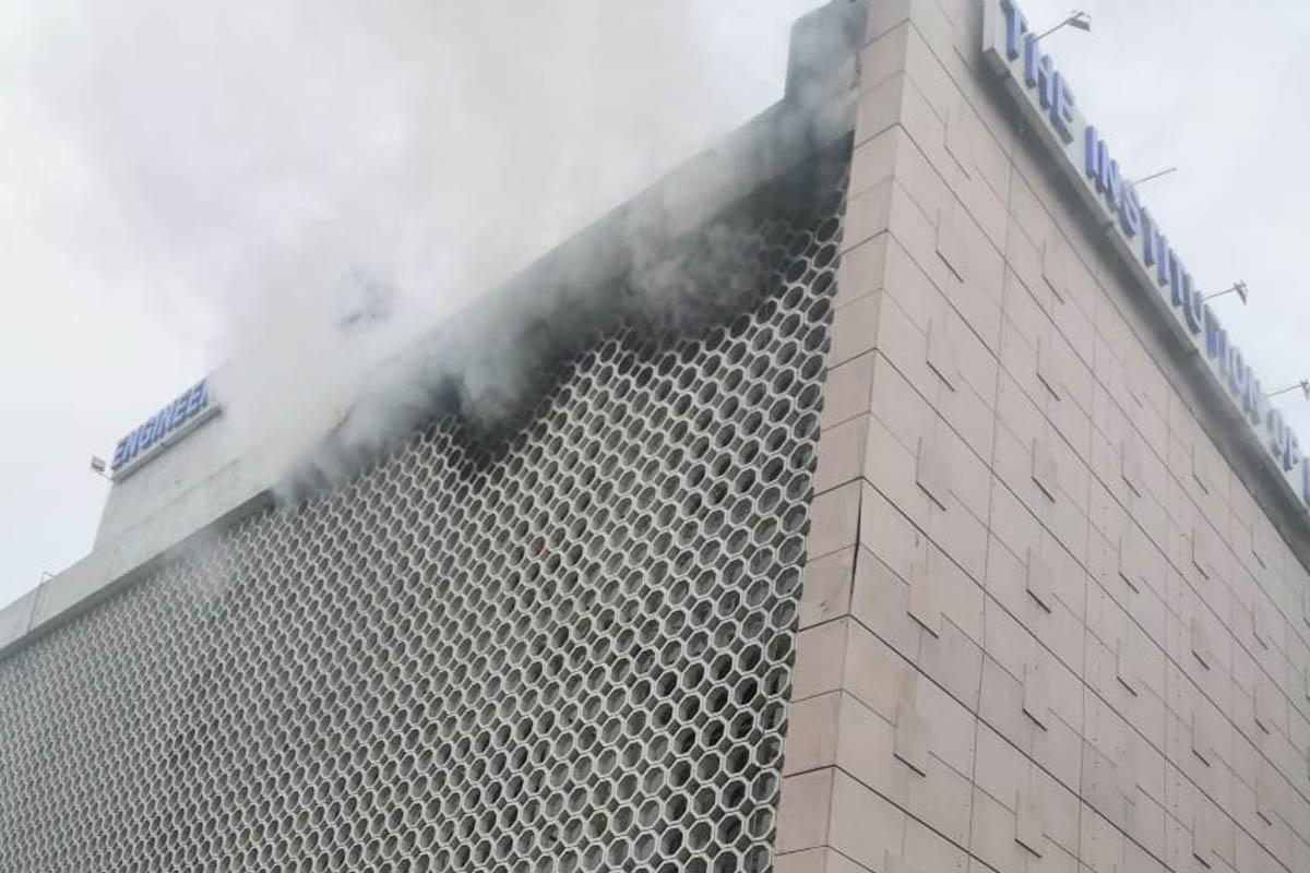Fire, Delhi, ITO building, no casualties