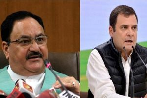 TN politics heats up as Rahul Gandhi, Nadda visit state on Pongal