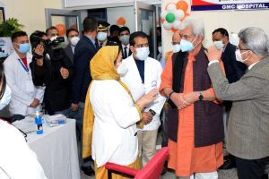 Covid vaccination drive launched in J&K, Ladakh UTs